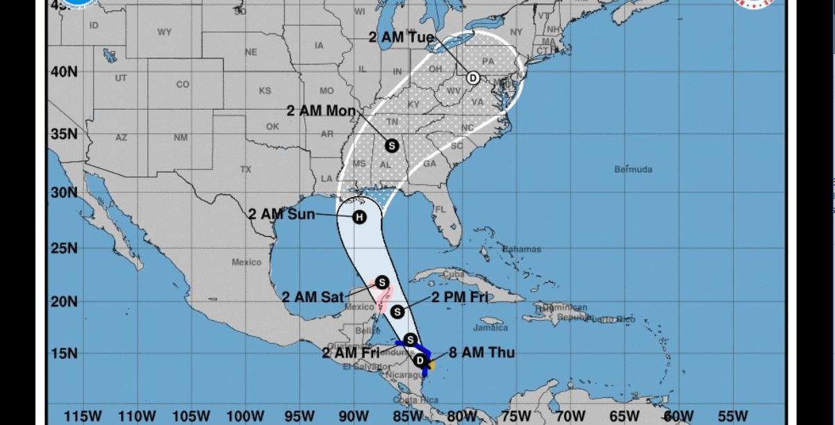 Florida declara emergencia en previsión por tormenta 'Nate'