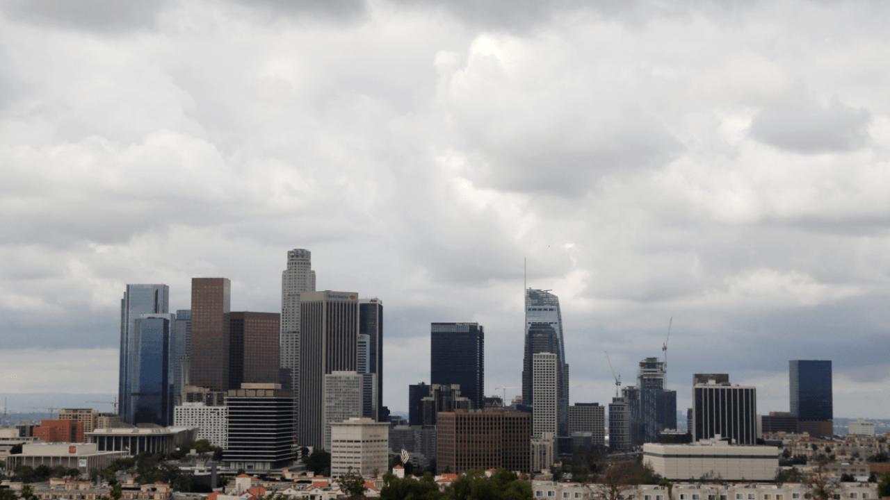 Horizonte de un sector de la ciudad de Los Angeles