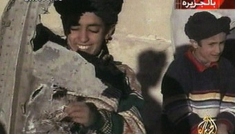 Imagen de Hamza bin Laden del 2001
