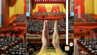 xi jinping da un discurso en el partido comunista