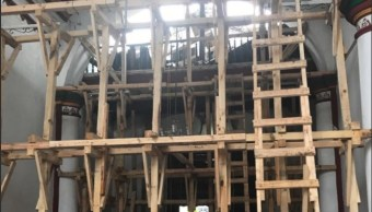 el inah restaura una iglesia en el edomex