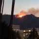 Incendio forestal en Mount Wilson, en Los Angeles