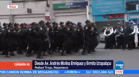 Inicia Operativo Mega Contra Crimen Oriente Cdmx