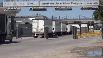 Insuficientes, los cruces internacionales de mercancías entre México y EU