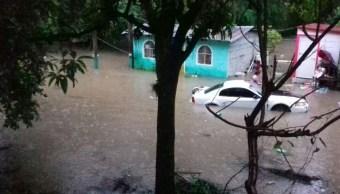 Lluvias dejan tres muertos en San Luís Potosí