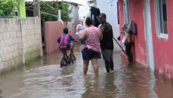 Inundaciones en Alvarado, Veracruz, por efectos del frente frío 5