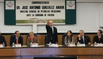 José Antonio González Anaya, dirctor general de Petróleos Mexicanos
