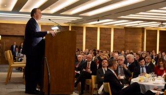José Antonio Meade destaca el crecimiento de la economía