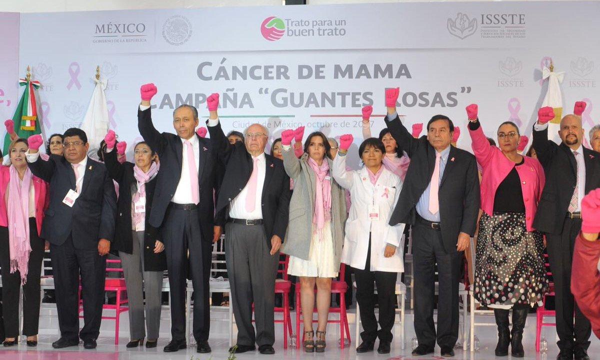 José Narro preside la feria de la salud 'Guantes Rosas'