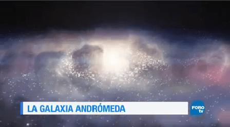 Galaxia Andrómeda Estudio Ayudado Humanidad Universo
