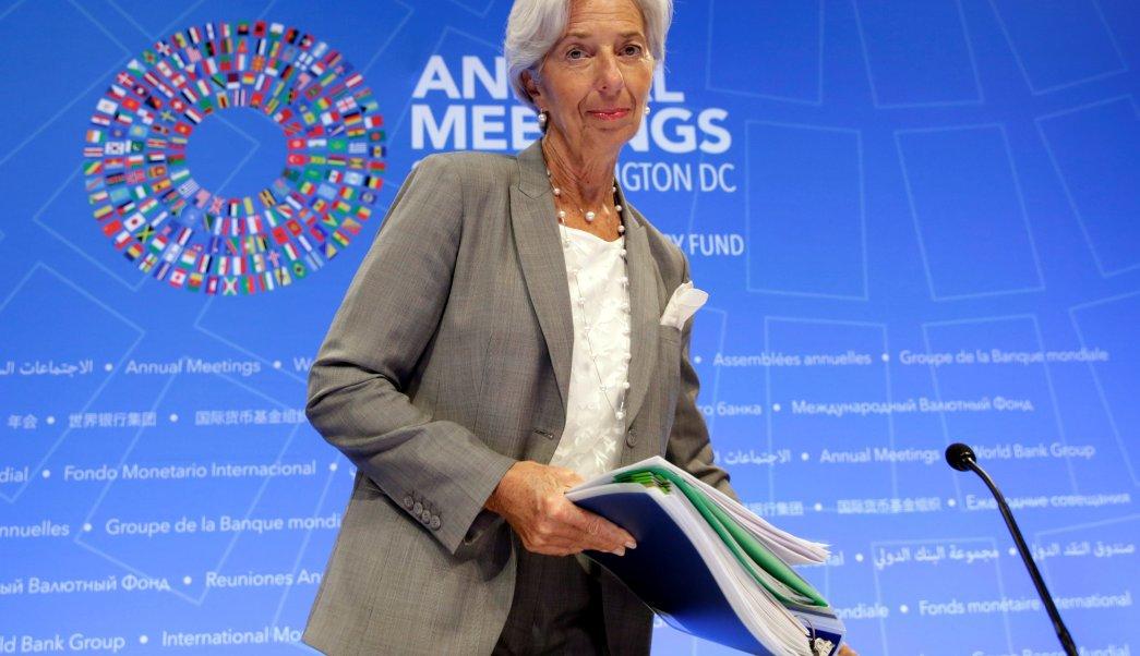 Lagarde pide reducir la incertidumbre ante el Brexit