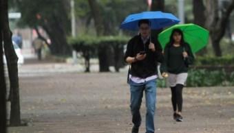SMN pronostica lluvias este domingo en la mayor parte del país
