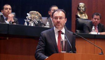 México no reconocerá a Cataluña como Estado independiente: Videgaray