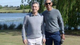 Macri mantiene encuentro privado en Argentina con Barack Obama