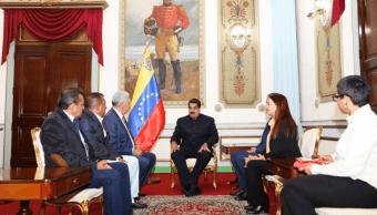 Maduro mantuvo un encuentro 'cordial' con gobernadores opositores