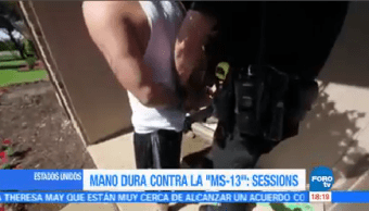 Mano Dura Contra Ms13 Jeff Sessions Fiscal General De Estados Unidos