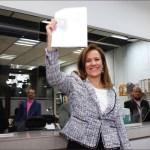 Margarita zavala manifiesta su intencion de ser independiente