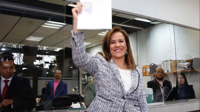 Margarita zavala manifiesta su intencion de ser independiente