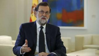 Mariano Rajoy, jefe del gobierno español