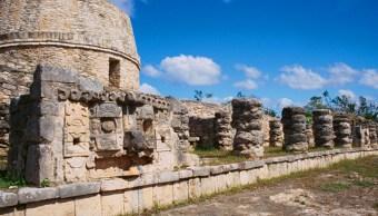 Hallazgos en zona arqueológica en Mayapán, Yucatán