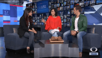 Mayte Perroni Mark Tacher Presentan Papa Toda Madre
