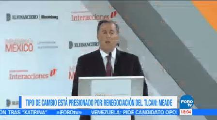Meade Escenario Central México Renegociación Tlcan Secretario De Hacienda
