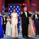 Melania y Donald Trump tras la victoria de las elecciones