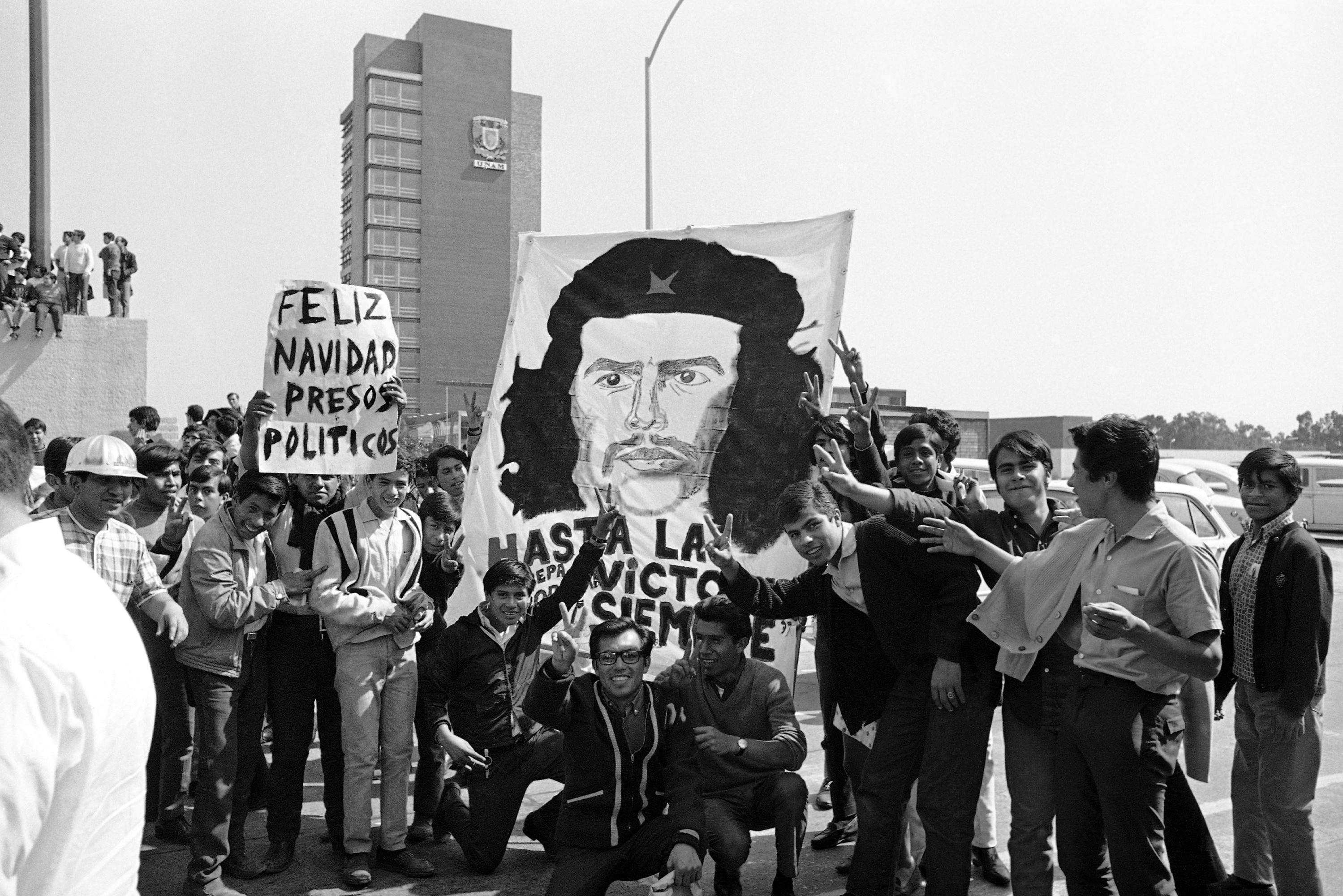Este Fue El Paso Del Che Por La Ciudad De México