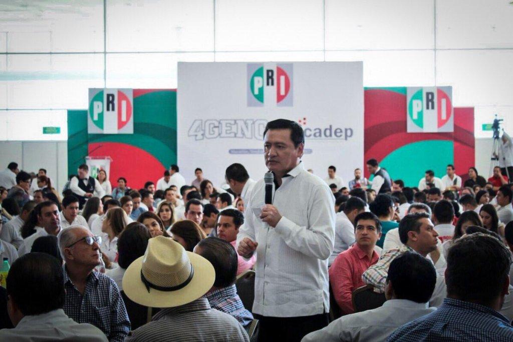 Miguel Ángel Osorio Chong, uno de los presidenciables del PRI