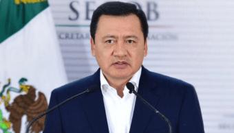 Miguel Ángel Osorio Chong, secretario de Gobernación