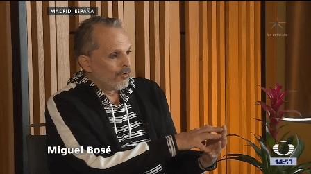 Miguel Bosé Cuatro Décadas Cantante Disfruta México