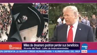 Miles Dreamers Podrían Perder Beneficios Líder Indocumentados Vicente Real