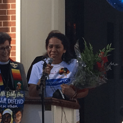 Mexicana refugiada en iglesia de Carolina del Norte no será deportada