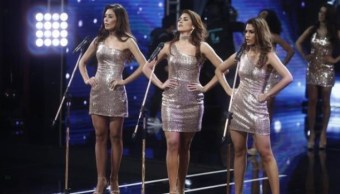 Candidatas a Miss Perú protestan contra feminicidios