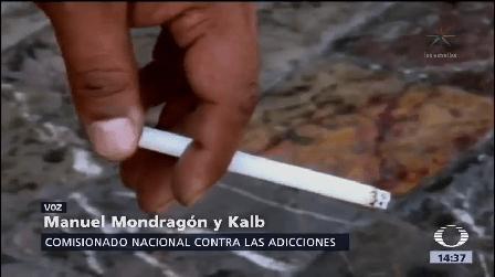 Mondragón Kalb Hace Llamado No Fumar Comisionado Nacional Contra Las Adicciones
