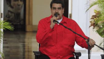 Nicolás Maduro en el Palacio presidencial de Miraflores de Caracas
