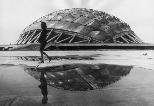 Palacio de los Deportes de la CDMX.