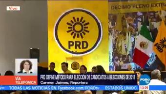 PRD Alista Método Elección Candidatos 2018