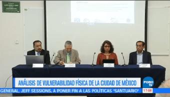 Presentan Resultados Hundimientos Fracturas Cdmx