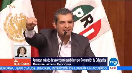 Pri Aprueba Método Selección Candidatos Partido Revolucionario Institucional