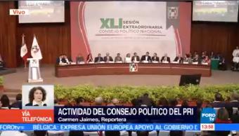 Pri Celebra Consejo Político Nacional Decidir Designar Candidatos 2018