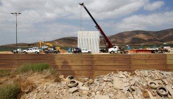 Prototipos muro fronterizo Trump toman forma San Diego