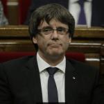 Puidgemont habla ante el Parlamento de Cataluña