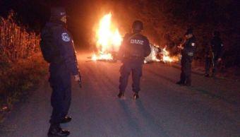 Cuerpo calcinado corresponde a Ranferi Hernández Acevedo, confirman autoridades