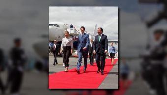 recibe videgaray a primer ministro de canada