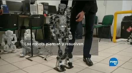 Robot Piensan Resuelven Centros Investigaciones Avanzadas Cinestav