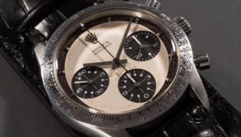 Rolex de Paul Newman subastado por casa Phillips en casi 18 mdd