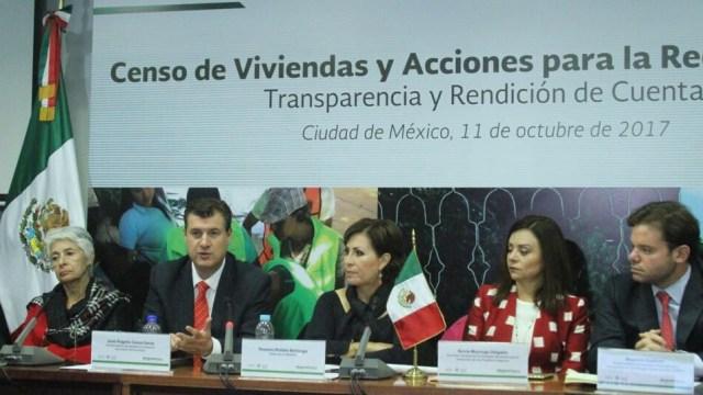 Concluye censo de viviendas afectadas por sismo en Chiapas y Oaxaca