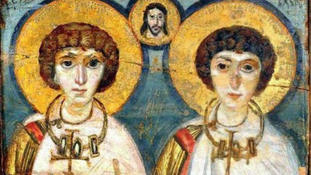 Hallan restos de los santos Sergio y Bacco