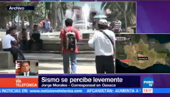 Registra Sismo 5 Grados Oaxaca Municipio Pinotepa Nacional
